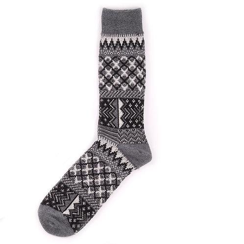 Yarn Works Socks - Work #9 - Grey