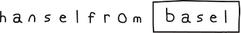 носки hansel from basel logo