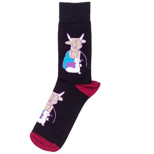 St.Friday Socks - Тёлочка с горностаем