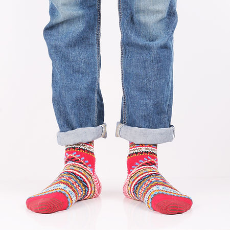 Носки Chup Kihnu Red Socks в интернет-магазине Sock Club Moscow
