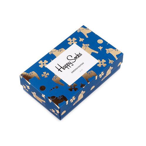 Happy Socks 3 Pair Gift Box - Swedish Edition