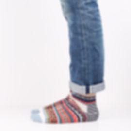 Chup Kihnu Oatmeal Socks at Sock Club Moscow