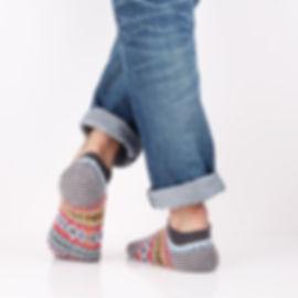 Chup Muir Grey Socks at Sock Club Moscow