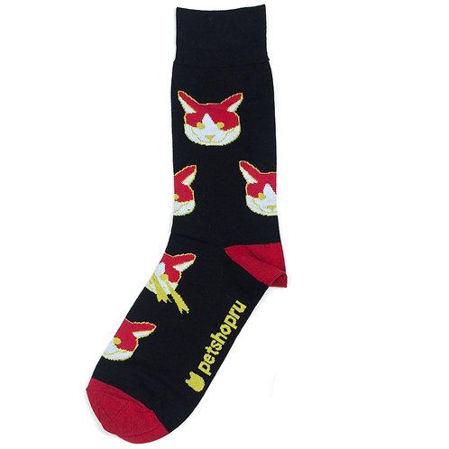 St.Friday Socks - Лазерный Кот