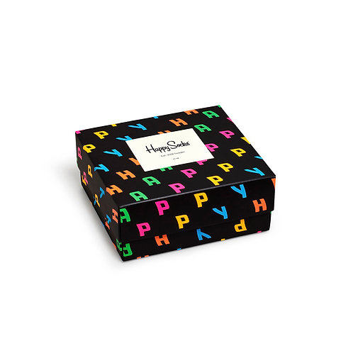 Happy Socks 2 Pair Pack - Happy Gift Box