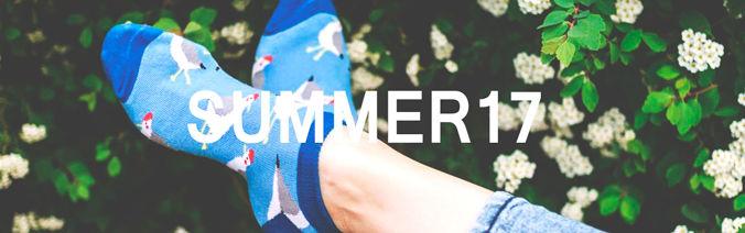 Summer socks at Sock Club Moscow