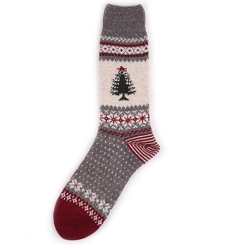 Chup Wool Santa - Red