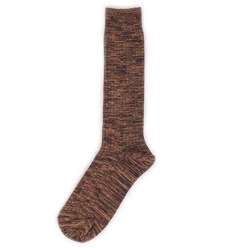 Yarn Works Socks - Work #6 - Brown