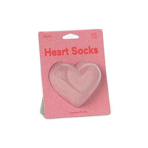 DOIY Heart Socks - Pink