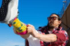Коллекция носков Happy Socks x Steve Aoki