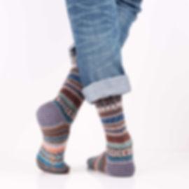 Chup Kevat Grey Socks at Sock Club Moscow