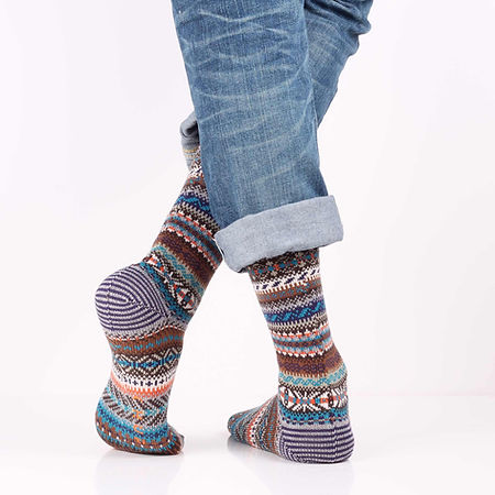 Chup Kevat Grey Socks at Sock Club Moscow