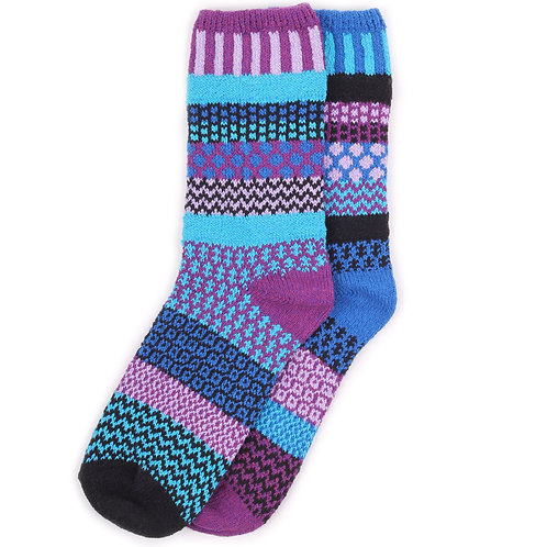 Solmate Socks - Raspberry