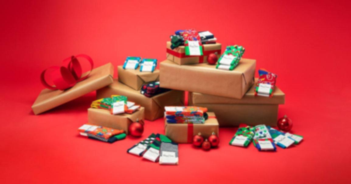 Happy Socks - праздничные наборы носков в подарочных упаковках