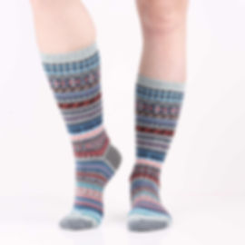 Chup Kevat Blue Socks at Sock Club Moscow