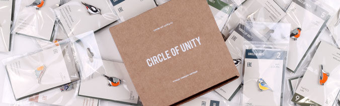 "Коллекция ""Птицы Северо-Запада"" от Circle Of Unity"