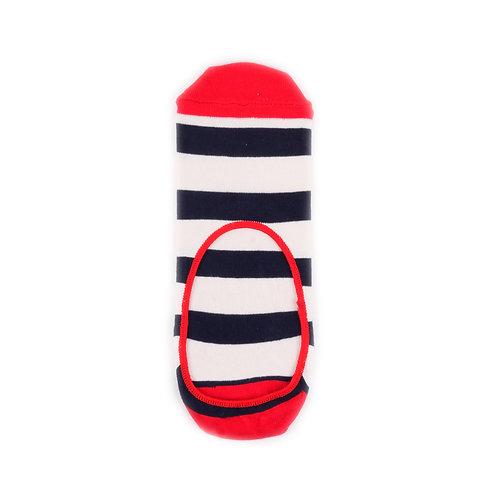 Happy Socks Liner Stripe - Red/Navy