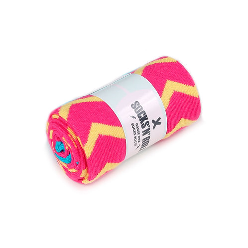 Socks'N'Roll - ZigZag - Pink