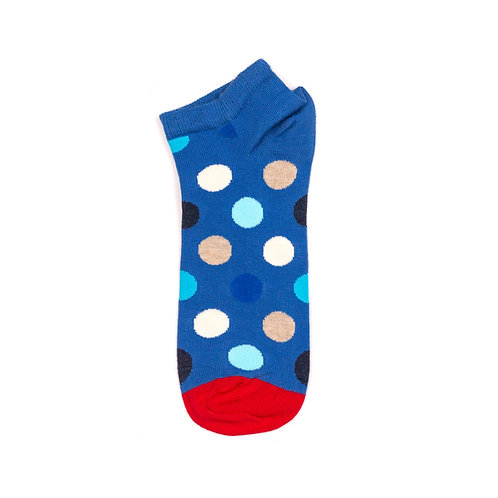 Happy Socks Low Big Dot - Blue