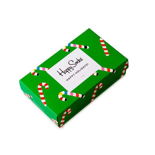 Happy Socks 3 Pair Gift Box - Holiday - Christmas Socks Set