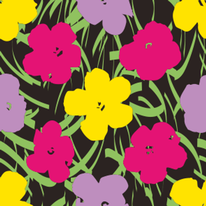 "Картина Энди Уорхола ""Цветы"""