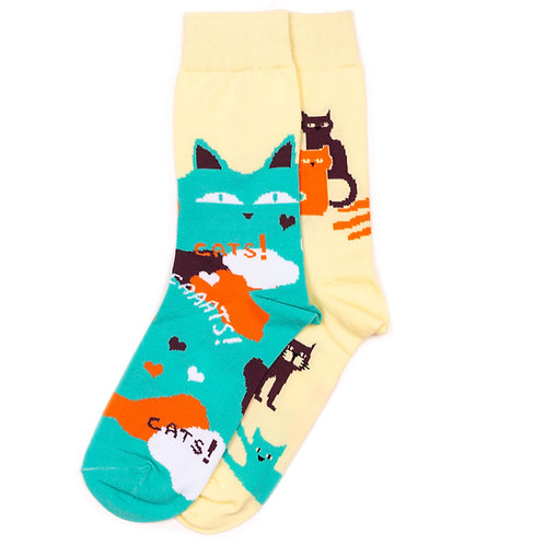 Sammy Icon - Mismatched - Cats