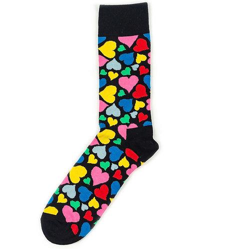 Happy Socks Hearts - Multicolor