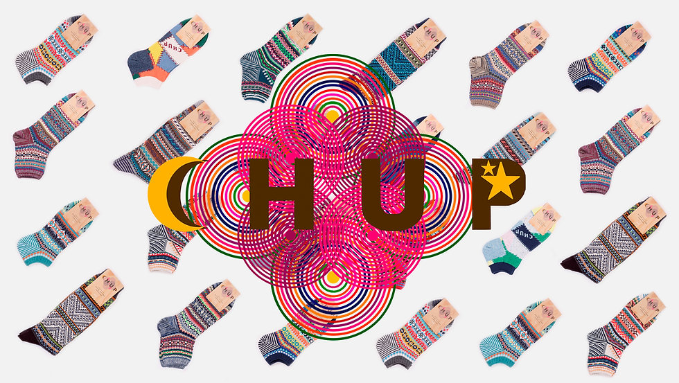 Chup Socks Spring Summer 2017 collection at Sock Club Moscow