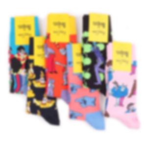 """Коллекция носков Happy Socks x The Beatles """"Yellow Submarine"""""""