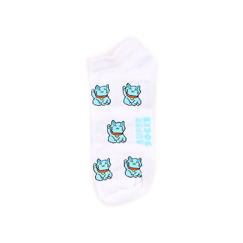 SUPER SOCKS - Ankle - Lucky Cats