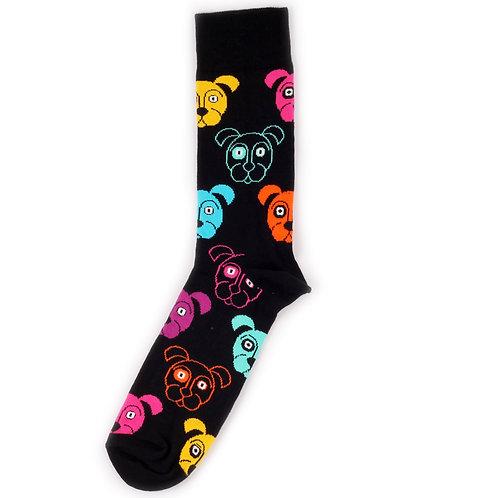 Happy Socks Dog - Multicolor