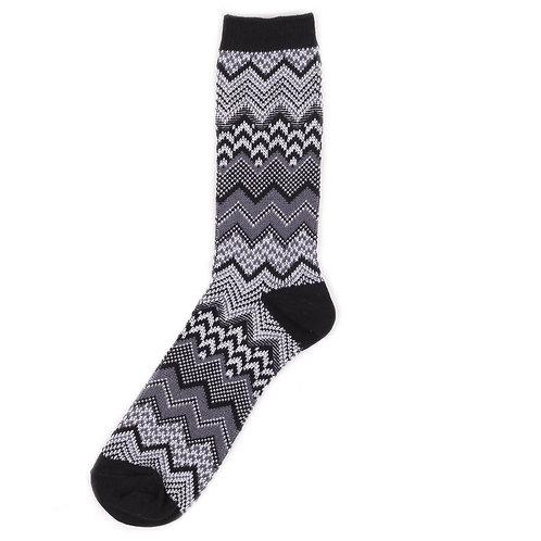 Yarn Works Socks - Work #5 - Black