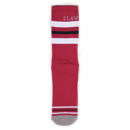 Claw Socks Crew - Red