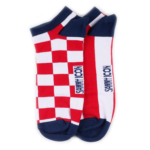 Sammy Icon Ankle - Mismatched - Checker