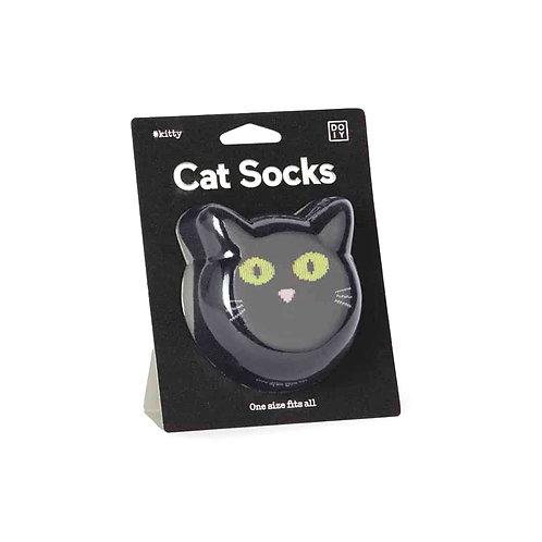 DOIY Cat Socks - Black