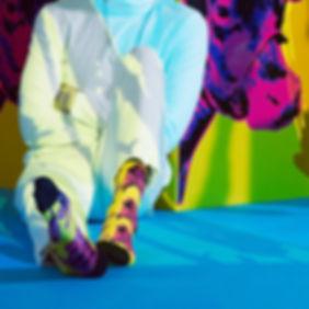 Дизайнерские носки с коровой Happy Socks x Andy Warhol
