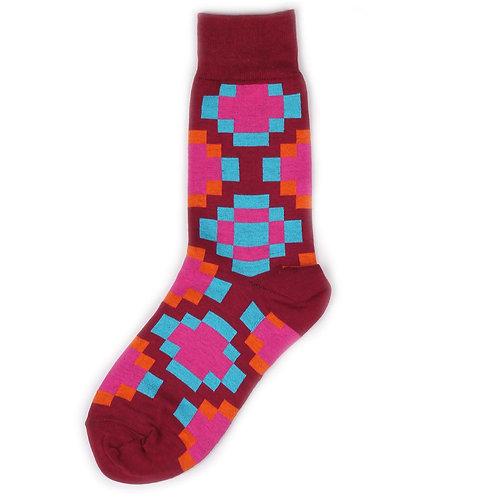 St.Friday Socks - Groovy - Purple