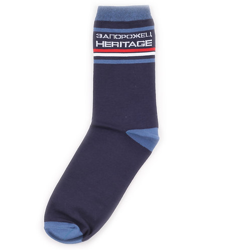 Zaporojec Socks - Stripes - Navy