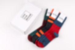 Шерстяные носки Happy Socks