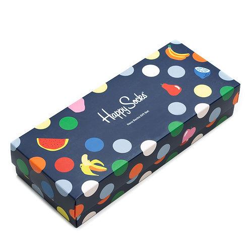 Happy Socks 4 Pair Pack - Navy Fruit