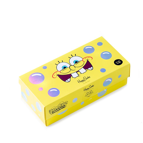 Happy Socks x SpongeBob 3-Pack Gift box