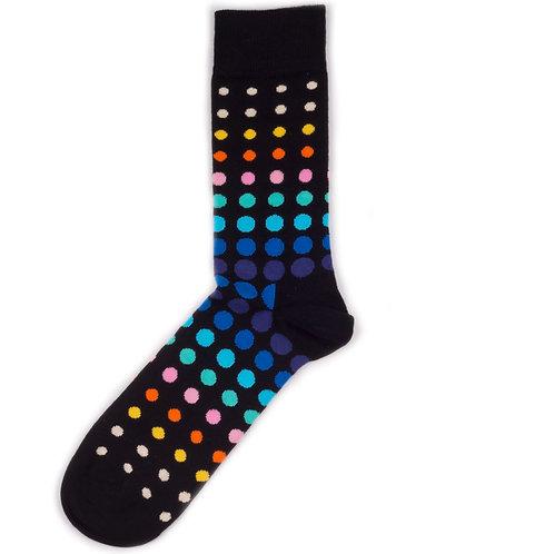 Happy Socks Faded Disco - Multicolor