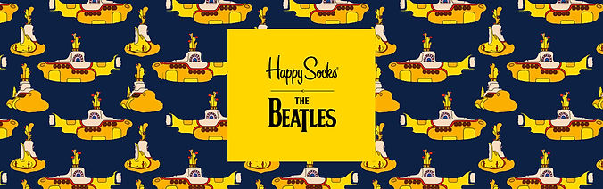 Happy Socks x The Beatles Sock Collection