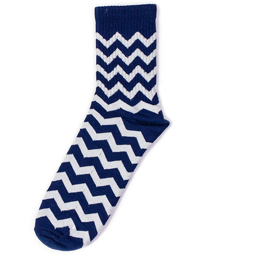 KF Original Socks - Zigzag - Blue