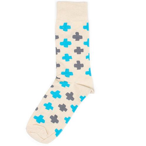 St.Friday Socks - Casual - Plus - Beige
