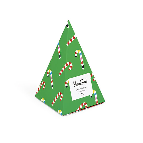 Happy Socks Kids 3 Pair Pack - Christmas Tree