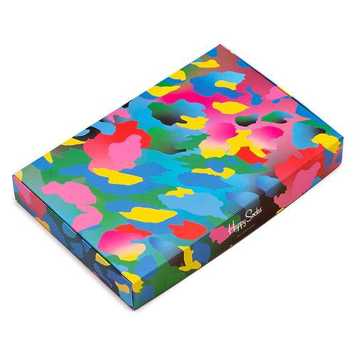 Happy Socks Подарочная упаковка для 4-х пар носков - Neo Camo