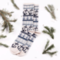 Anonymous Ism Anchor Jacquard Crew Socks