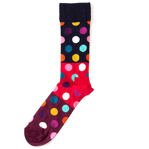 Happy Socks Big Dot - Block