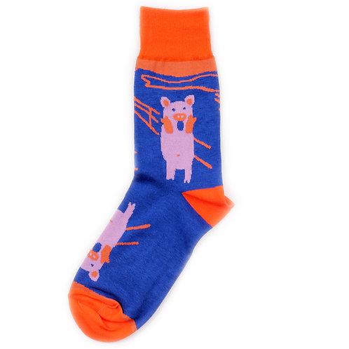 St.Friday Socks - Pig Skrik